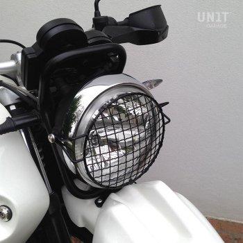 ヘッドライト保護グリル(R120 G / S)