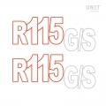 R115 GSステッカー