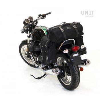 キャンバスサイドバッグ+ Guzzi V7 DXフレーム