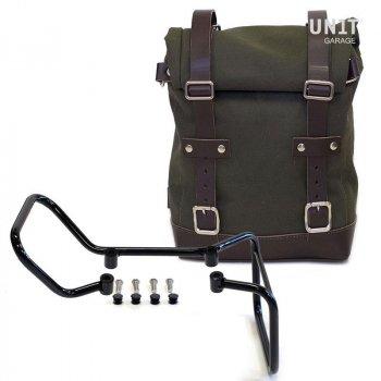 キャンバスサイドバッグ+ husqvarna 701フレーム