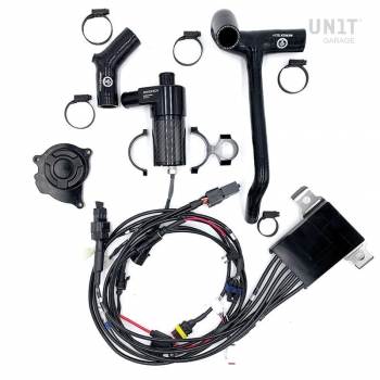 元のポンプを除外するための電動ポンプとカバーを備えた冷却KIT2