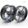 スポークホイールのペアNineT Racer&Pure 24M9 SX-Spider tubeless