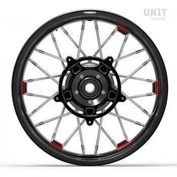 スポークホイールのペアNineT Racer&Pure 24M9 SX tubeless