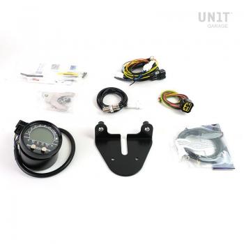 PRO GASTONヘッドライトキット+デジタル計装