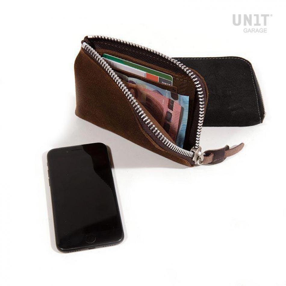 電話ホルダーと財布