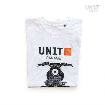 ホワイトガレージユニットTシャツ