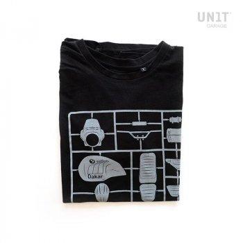 ブラックガレージユニットTシャツ